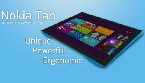 Компания Nokia выпустит планшет на базе Windows 8 в 2012 году