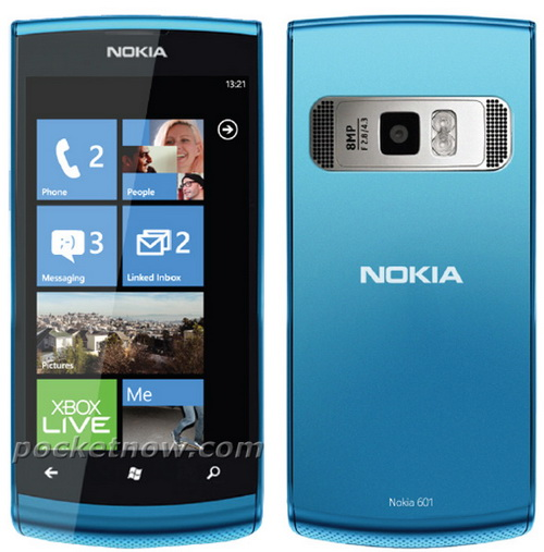 Слухи: новый WP7 смартфон Nokia Lumia 601