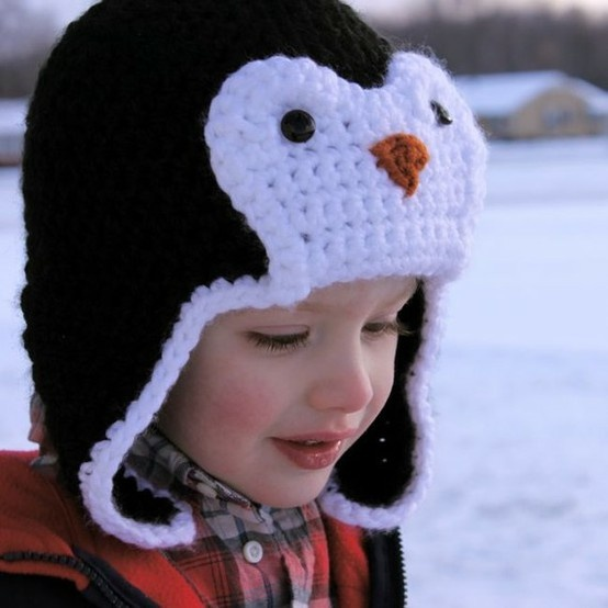 Забавные шапочки для малышей 5