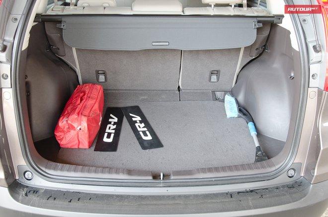 Honda CR-V интерьер багажник