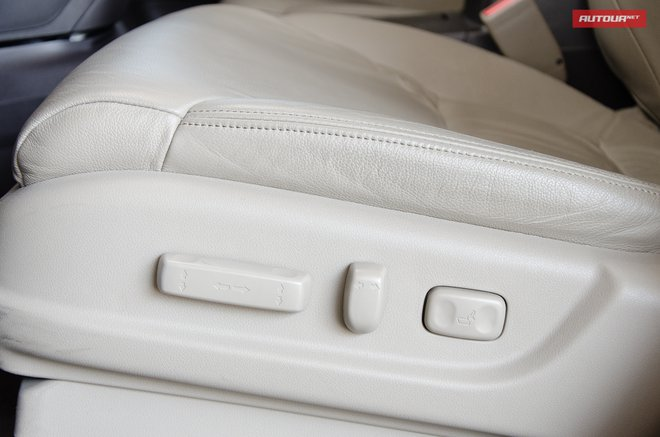 Honda CR-V интерьер