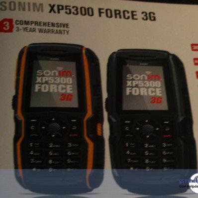 Sonim готовит «неразрушимый» телефон Sonim XP5300 Force 3G