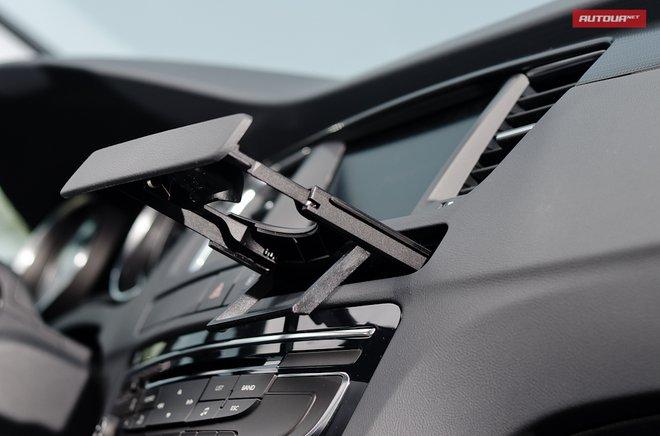 Тест-драйв Peugeot 508 (Пежо 508) интерьер подстаканники