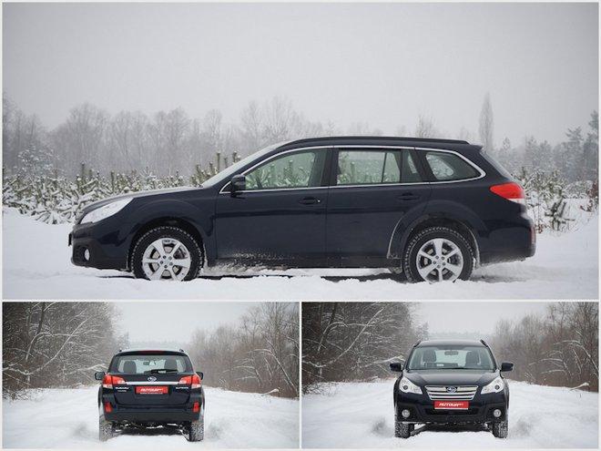 Subaru Outback 2013 виды
