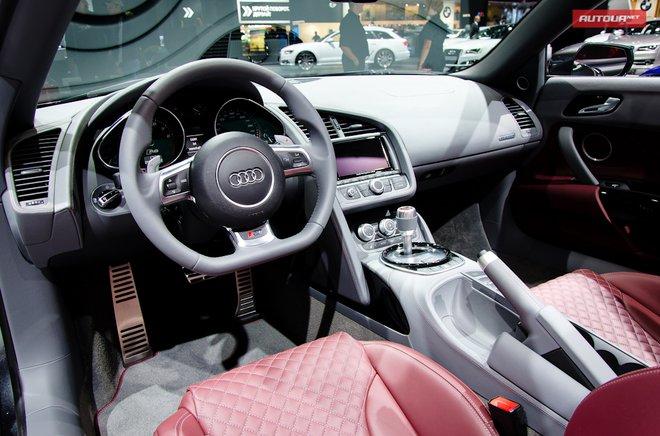 Audi R8 и R8 Spyder  на Московском автосалоне