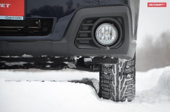 Subaru Outback 2013 клиренс
