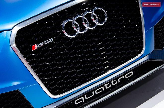 Audi Q3 RS на Московском автосалоне