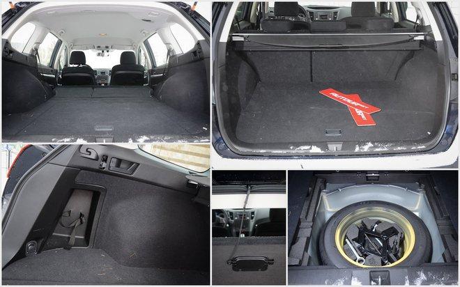 Subaru Outback 2013 багажник