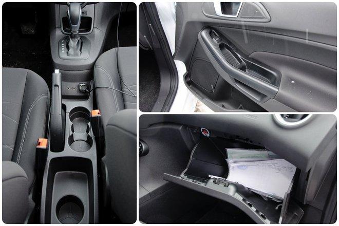 Ford Fiesta 2013 в Украине интерьер подстаканники