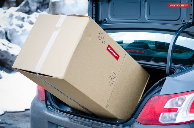 Вместимость багажника Peugeot 301 и Citroen C-Elyse