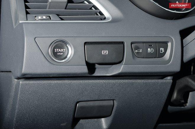 Тест-драйв Peugeot 508 (Пежо 508) интерьер органы управления
