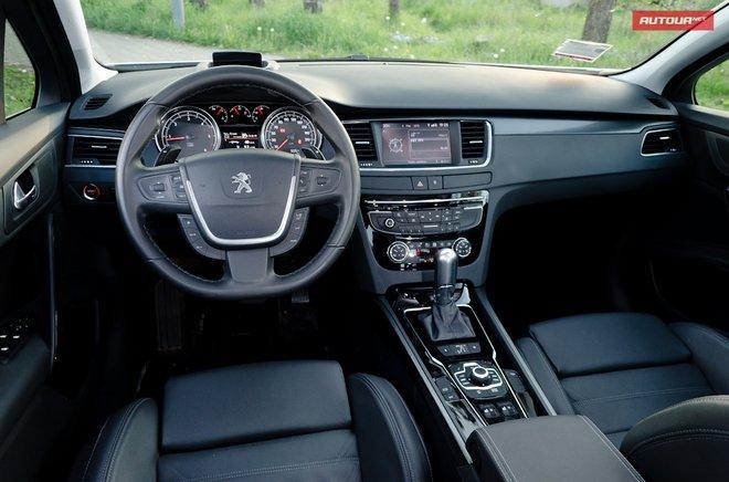 Тест-драйв Peugeot 508 (Пежо 508) интерьер