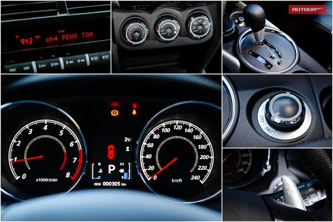 Тест-драйв Peugeot 4008 (Пежо 4008) интерьер органы управления
