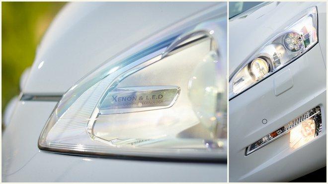 Тест-драйв Peugeot 508 (Пежо 508) экстерьер фара