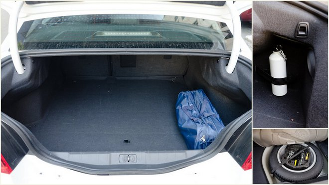 Тест-драйв Peugeot 508 (Пежо 508) багажник