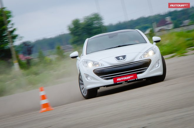Peugeot RCZ тест-драйв