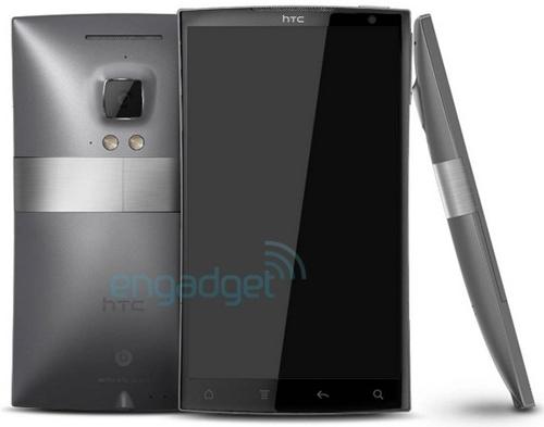 «Шпионское» фото четырехъядерного смартфона HTC Zeta на базе Android 4.0