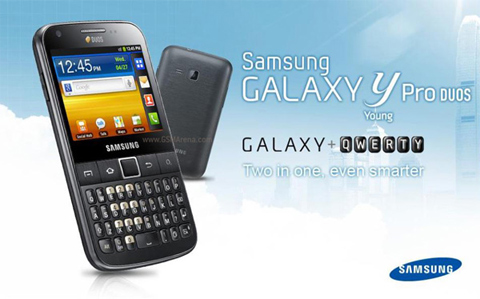 Вскоре увидим двухсимочную версию Samsung Galaxy Y Pro